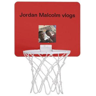 Mini Jordan and Malcolm vlogs mini basketball hoop