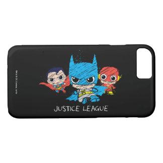 Mini Justice League Sketch iPhone 8/7 Case