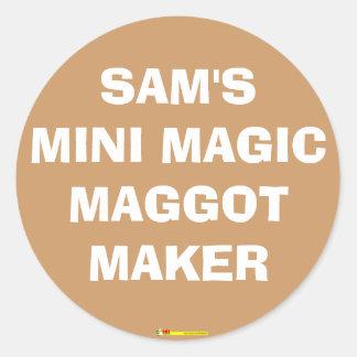 MINI MAGIC MAGGOT MAKER - Sticker