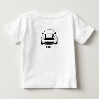 MINI Me Design - on back Baby T-Shirt