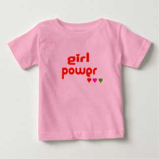 Mini Me Retro Girl Power Baby T-Shirt