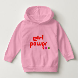 Mini Me Retro Girl Power Hoodie