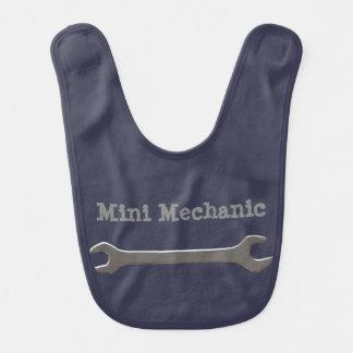 Mini Mechanic Baby Bib