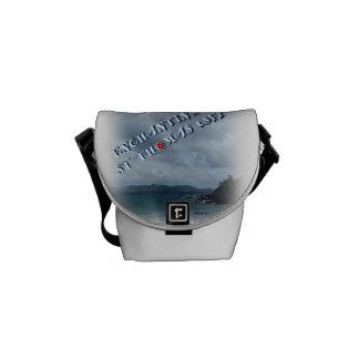 MINI MESSENGER BAG-ENCHANTED ST THOMAS USVI MESSENGER BAG