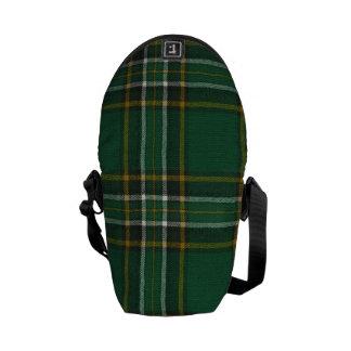 MINI Messenger Bag Irish National Tartan Print