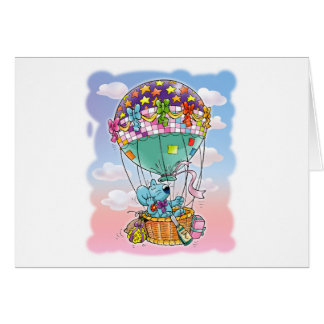 Mini Mice and big balloon Card