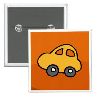 Mini Mini Car 2 Inch Square Button