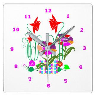 Mini Mini Garden:  Bunch of Flower Arrangement Wallclock