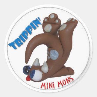 """Mini Mons """"Trippin"""" Sticker"""