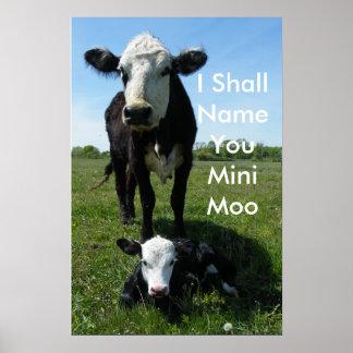 Mini-Moo Poster