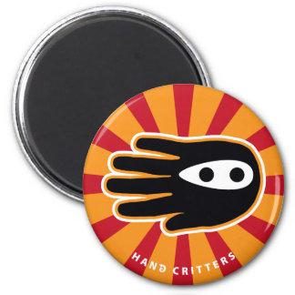 Mini Ninja 2 Inch Round Magnet