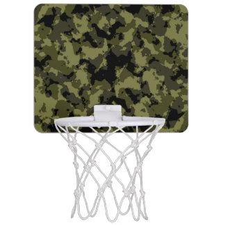 Mini-panier De Basket Motif militaire de style de camouflage
