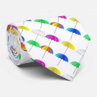 Mini parapluies cravate