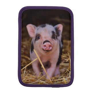mini pig iPad mini sleeve