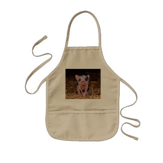 mini pig kids apron