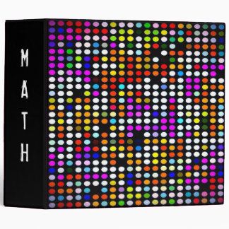 Mini Polka-Dot 3 Ring Avery  Binder (personalize)