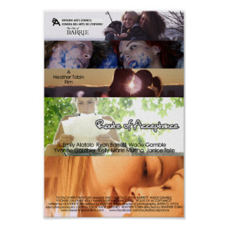 "Mini Poster ""ROUTE OF ACCEPTANCE"" Lesbian Film"