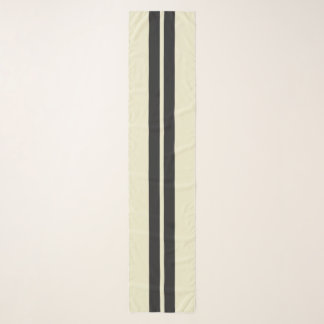 Mini Racing Stripes on ANY COLOR Background Scarf