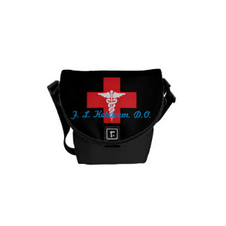 Mini sac messenger médical personnalisé sacoche