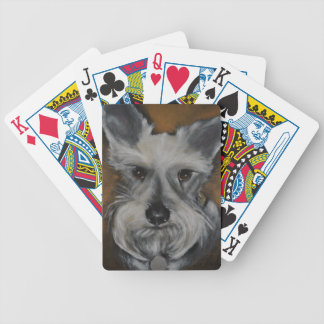 Mini Schnauzer Design No.2 Bicycle Playing Cards