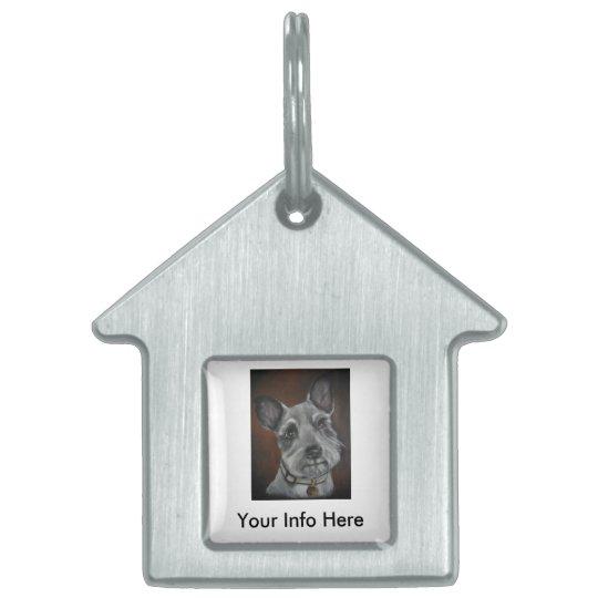 Mini Schnauzer Design No.3 Pet ID Tag