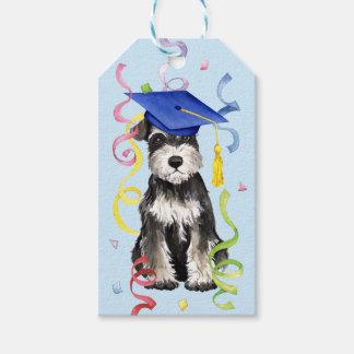 Mini Schnauzer Graduate Gift Tags