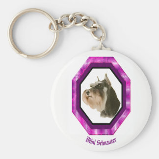 Mini Schnauzer Key Chain