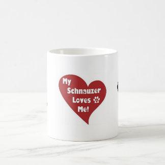 Mini Schnauzer Love Coffe Mug