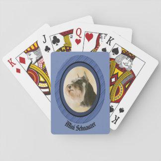 Mini Schnauzer Playing Cards