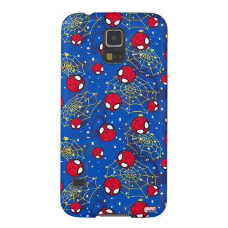 Mini Spider-Man and Web Pattern Case For Galaxy S5