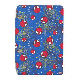 Mini Spider-Man and Web Pattern iPad Mini Cover