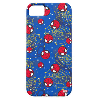 Mini Spider-Man and Web Pattern iPhone 5 Covers