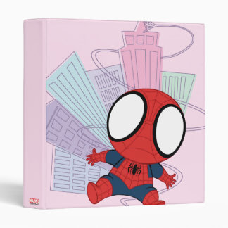 Mini Spider-Man & City Graphic Binders