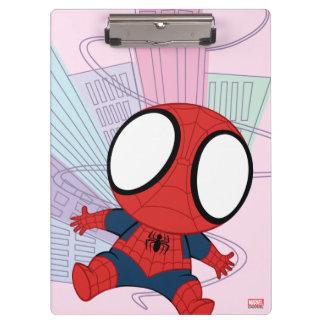 Mini Spider-Man & City Graphic Clipboard