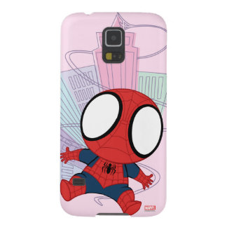 Mini Spider-Man & City Graphic Galaxy S5 Case