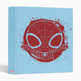 Mini Spider-Man Grunge Graphic Binder