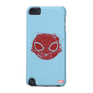 Mini Spider-Man Grunge Graphic iPod Touch (5th Generation) Case