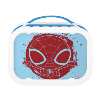 Mini Spider-Man Grunge Graphic Lunch Boxes