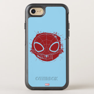 Mini Spider-Man Grunge Graphic OtterBox Symmetry iPhone 7 Case