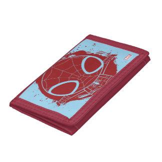 Mini Spider-Man Grunge Graphic Tri-fold Wallet