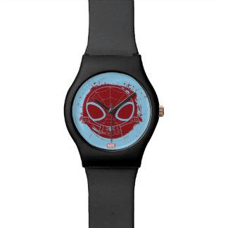 Mini Spider-Man Grunge Graphic Wristwatch