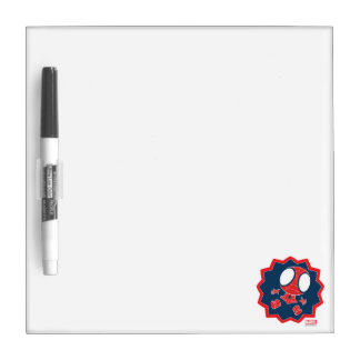 Mini Spider-Man in Callout Graphic Dry Erase Whiteboards