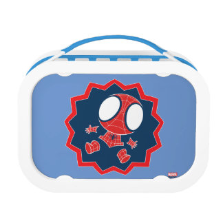 Mini Spider-Man in Callout Graphic Lunch Boxes