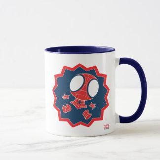Mini Spider-Man in Callout Graphic Mug