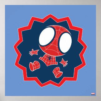 Mini Spider-Man in Callout Graphic Poster