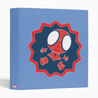 Mini Spider-Man in Callout Graphic Vinyl Binders