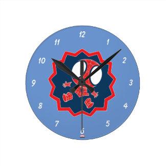 Mini Spider-Man in Callout Graphic Wallclocks