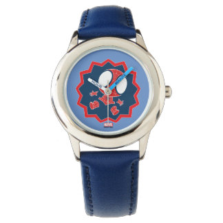 Mini Spider-Man in Callout Graphic Wrist Watches