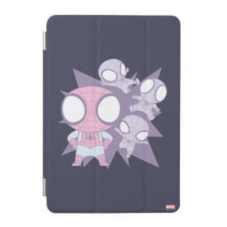 Mini Spider-Man Poses iPad Mini Cover