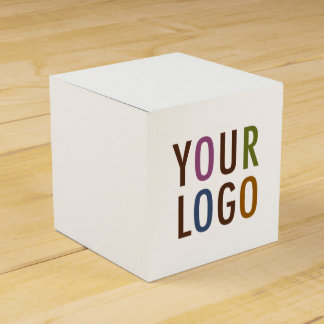 Mini Square Favour Gift Box with Custom Logo & Party Favor Box